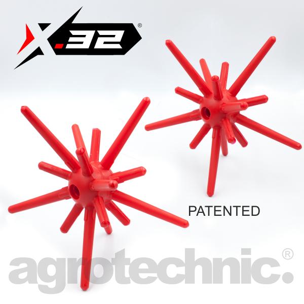 agrotechnic x32 elastic semispheres